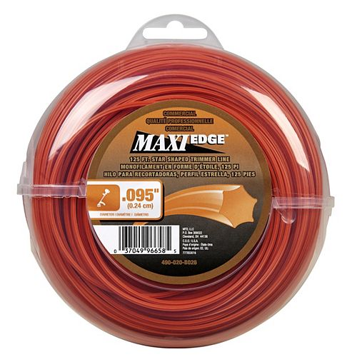 Commercial Maxi-Edge 125' .095 in. Universal Trimmer Line