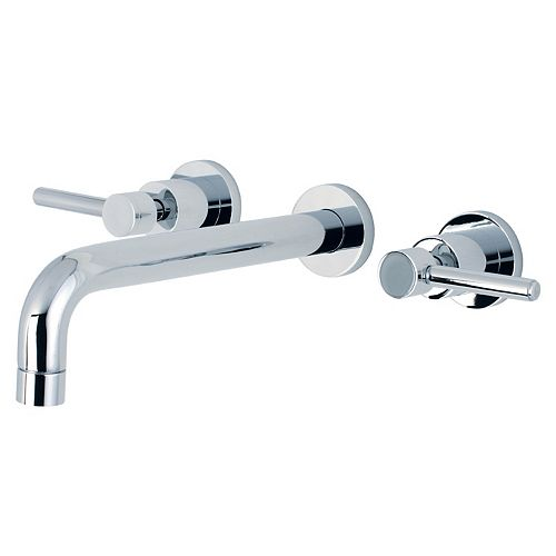 Concord 2-Handle Wall-Mount Roman Tub Faucet Filler in Chrome
