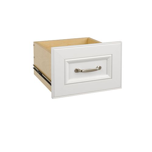 Impressions 16 in. White Narrow Drawer Kit
