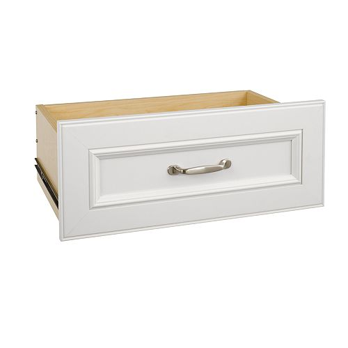 Impressions 25 in. White Wide Standard Drawer Kit
