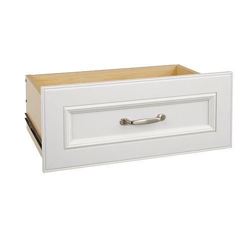 ClosetMaid Kit pour tiroir large standard blanc de 63,50 cm Impressions de