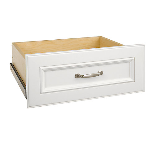 ClosetMaid Impressions 25 in. White Wide Deluxe Drawer Kit