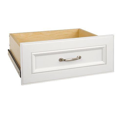 Impressions 25 in. White Wide Deluxe Drawer Kit