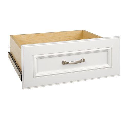 Kit pour tiroir large de luxe blanc de 63,50 cm Impressions de