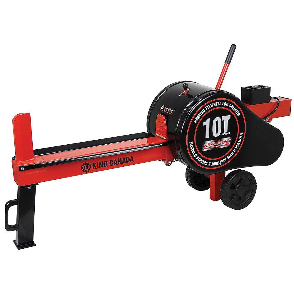 Power Force 10 Ton Kinetic Flywheel Log Splitter