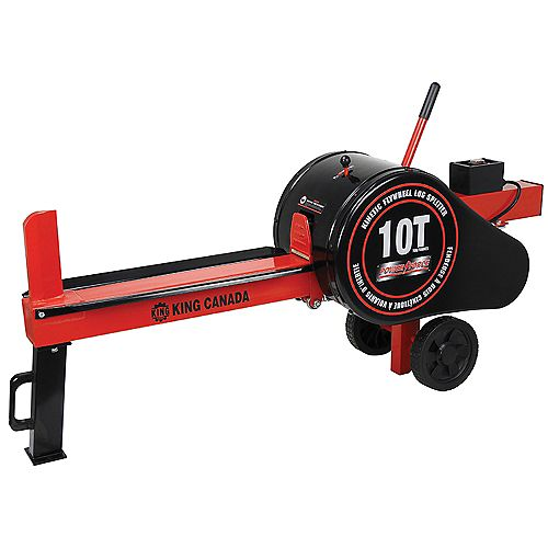 10 Ton Kinetic Flywheel Log Splitter