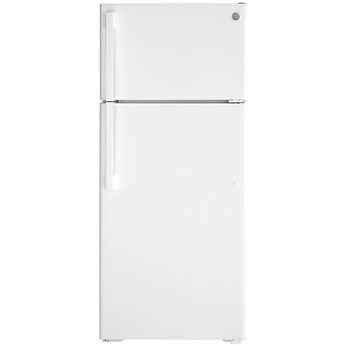 17.5 Cu. Ft. Top-Mount No Frost Refrigerator in White