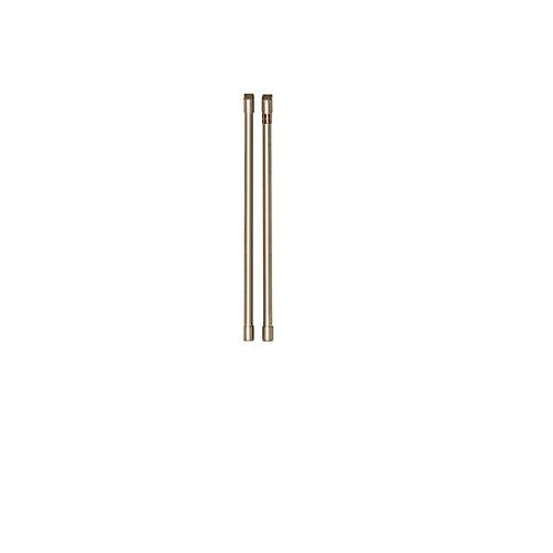 Kit poignée de réfrigérateur Café (2 pièces) en bronze brossé