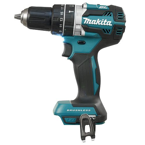 "1/2"" Cordless 18V Hammer Drill / Driver with Brushless Motor"