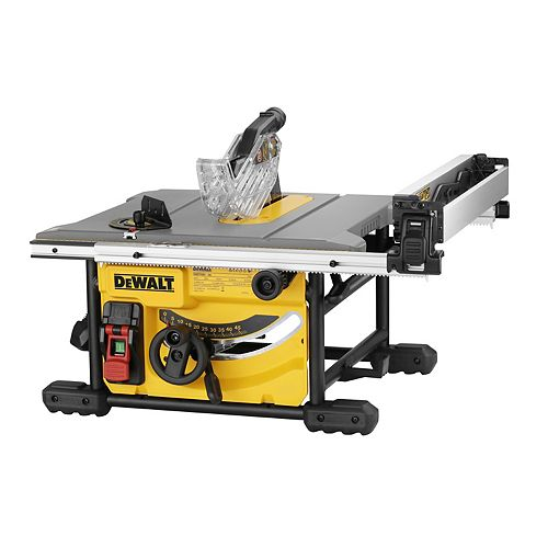 DEWALT 15 Amp Corded 8-1/4-inch Compact Jobsite Tablesaw