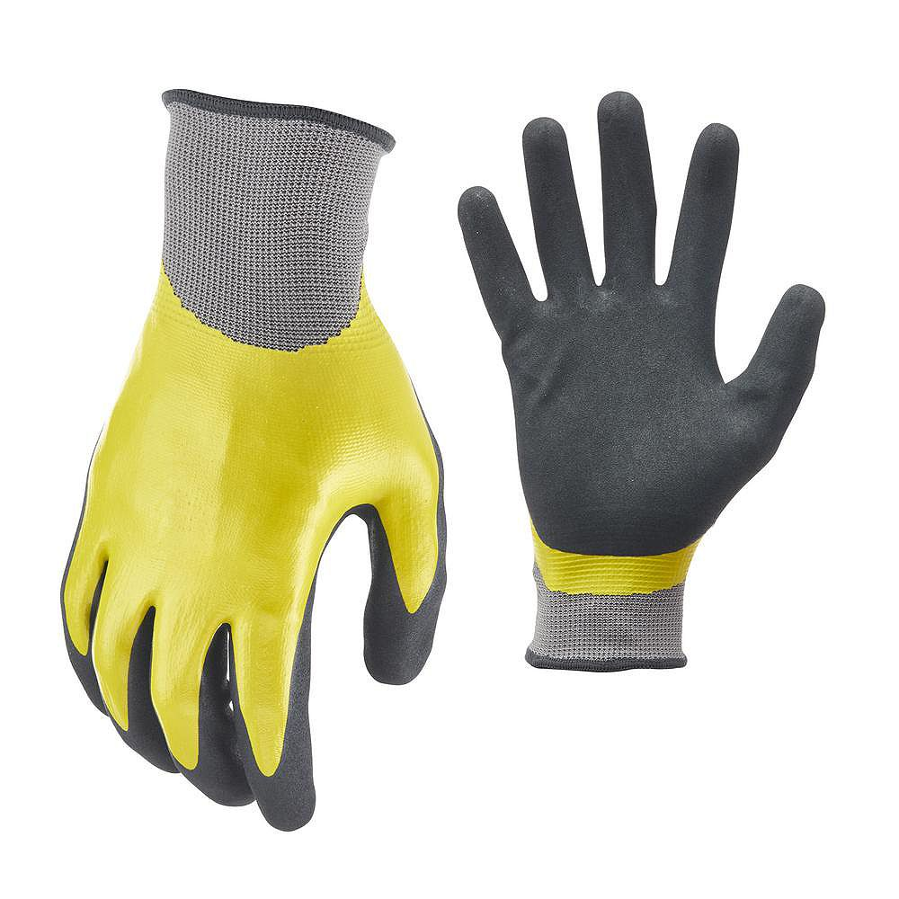 Firm Grip Water Resistant Double Dipped, XL