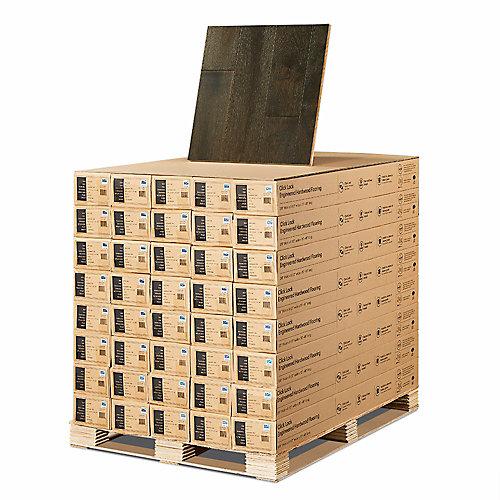 French Oak Oceanside 3/8-inch x 6-1/2-inch x Varying Length Click Hardwood Flooring (945.6 sq. ft. /pallet)
