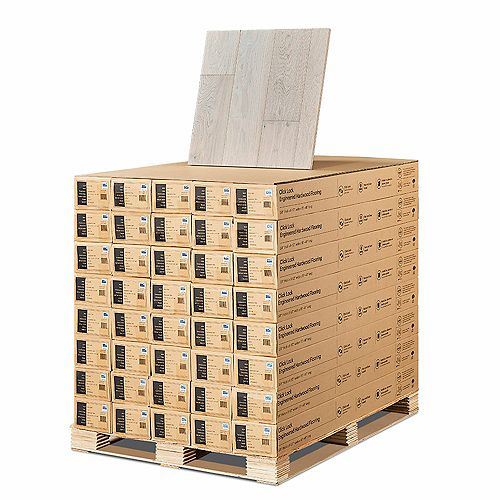 French Oak Rincon 3/8-inch Thick x 6-1/2-inch Wide x Varying Length Click Hardwood Flooring (945.6 sq. ft. /pallet)