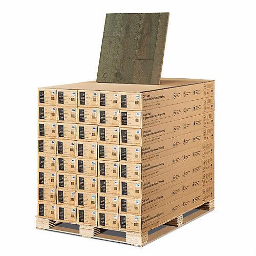 French Oak Baker 3/8-inch x 6-1/2-inch x Varying Length Eng. Click Hardwood Flooring(945.6 sq. ft. /pallet)
