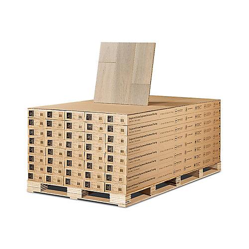 French Oak Mavericks 1/2-inch x 7-1/2-inch x Varying Length Eng. Hardwood Flooring (932.4 sq. ft./pallet)