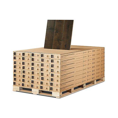 Maple Hermosa 1/2-inch x 7-1/2-inch x Varying Length Engineered Hardwood Flooring (932.4 sq. ft./pallet)