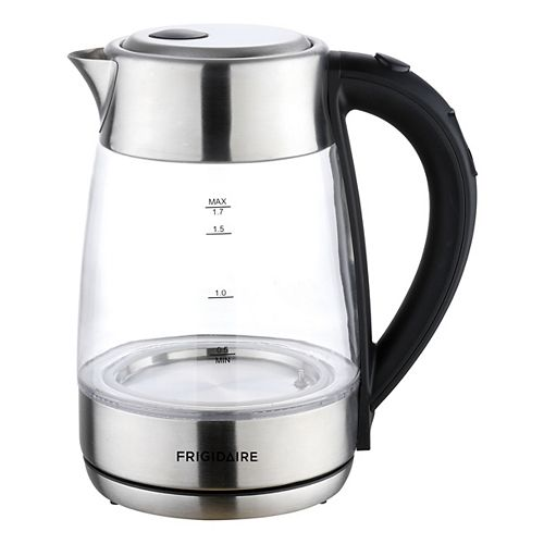 Frigidaire 1.7L Glass Kettle with Digital Temperature Control