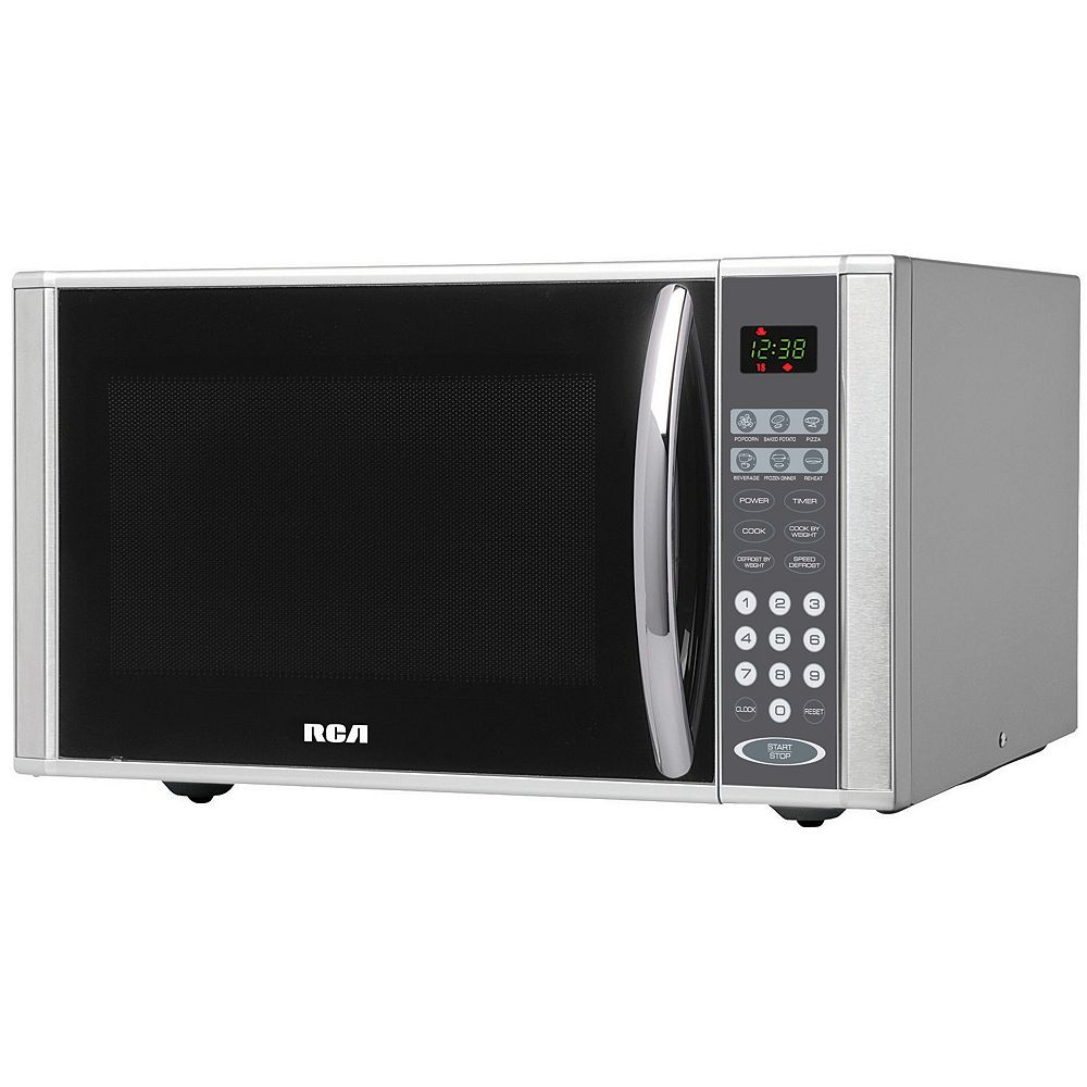RCA RCA 1.1 Cu. Ft. Stainless Steel Microwave