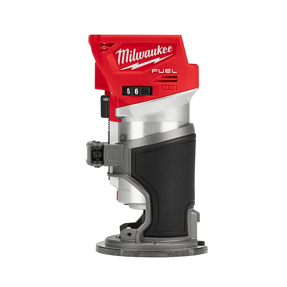 Milwaukee Tool M18 FUEL 18V Lithium-Ion Brushless Cordless Compact Router (Tool Only)