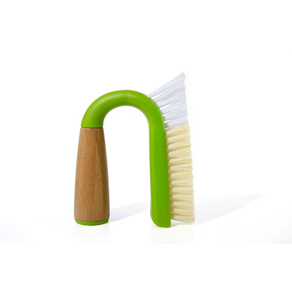 Full Circle FC Grunge Grout-Tile Brush, Green