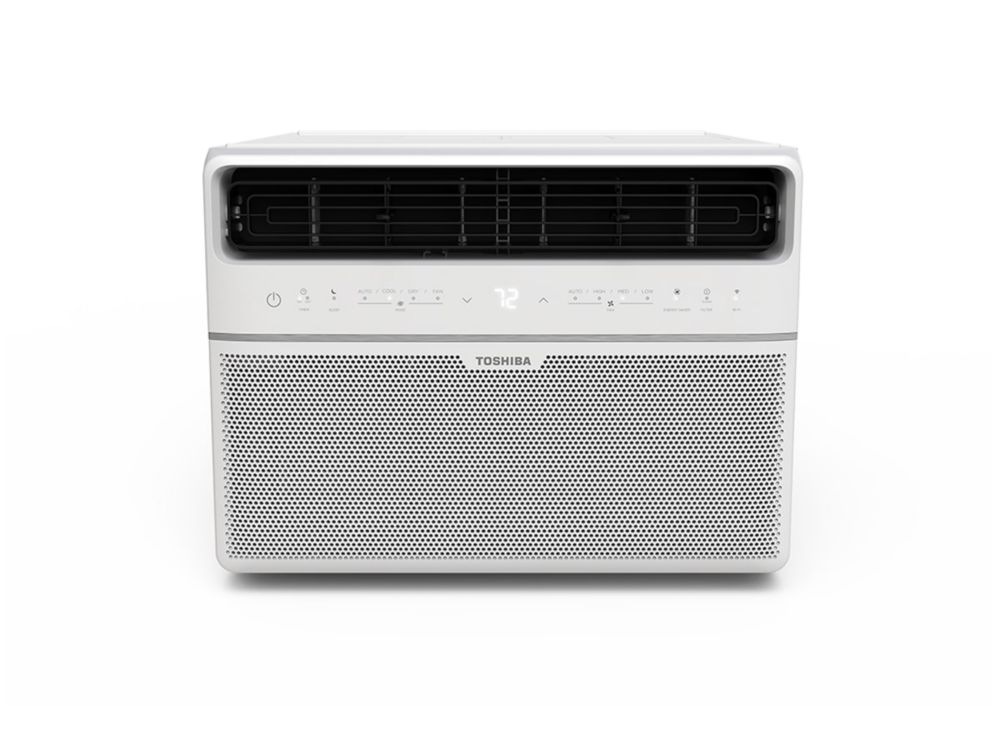 8,000 BTU 115V Smart Window Air Conditioner with Remote (ENERGY STAR)