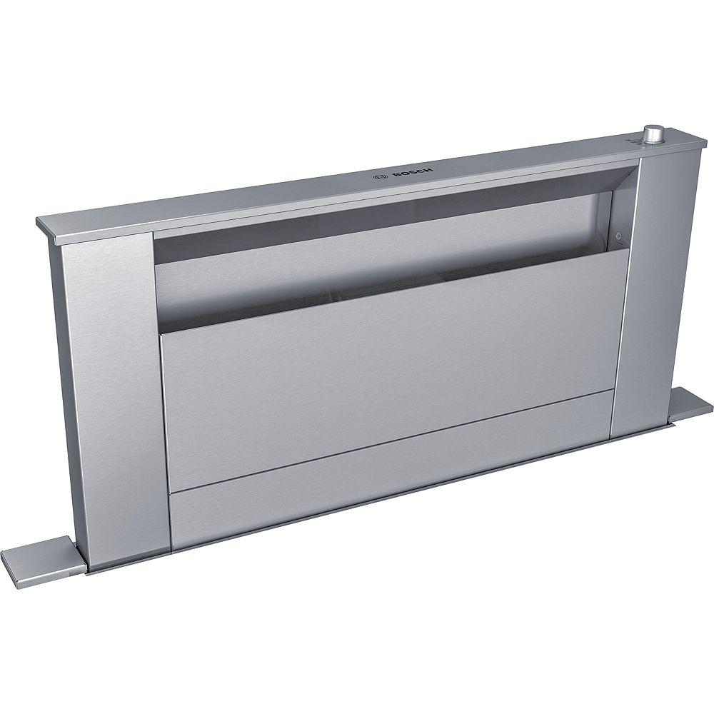 Bosch Hotte encastrable à aspiration descendante 30 po de série 800  HDD80051UC  Acier inoxydable