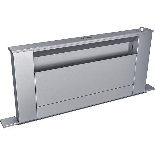 Hotte encastrable à aspiration descendante 30 po de série 800  HDD80051UC  Acier inoxydable