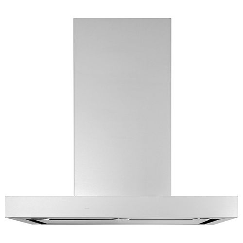 GE 30-inch W Smart Wall Mount Range Hood in Stainless Steel