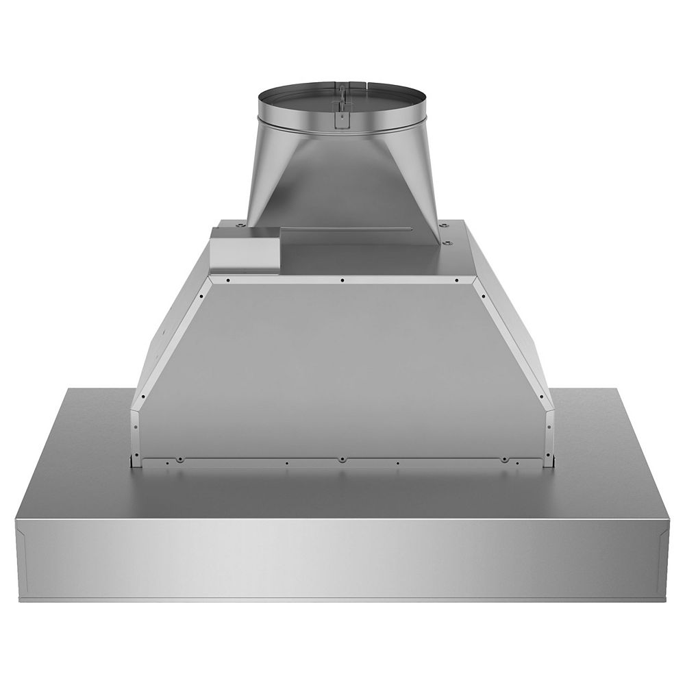 GE 30-inch W Range Hood in Stainless Steel