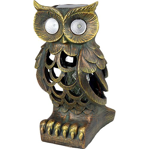 Solar LED Owl Bug Zapper
