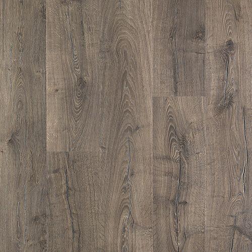Rev. en stratifié Outlast+, fini Vintage Pewter Oak, 10 mm E x 7,48 po l x 47,24 L, 19,63 pi2