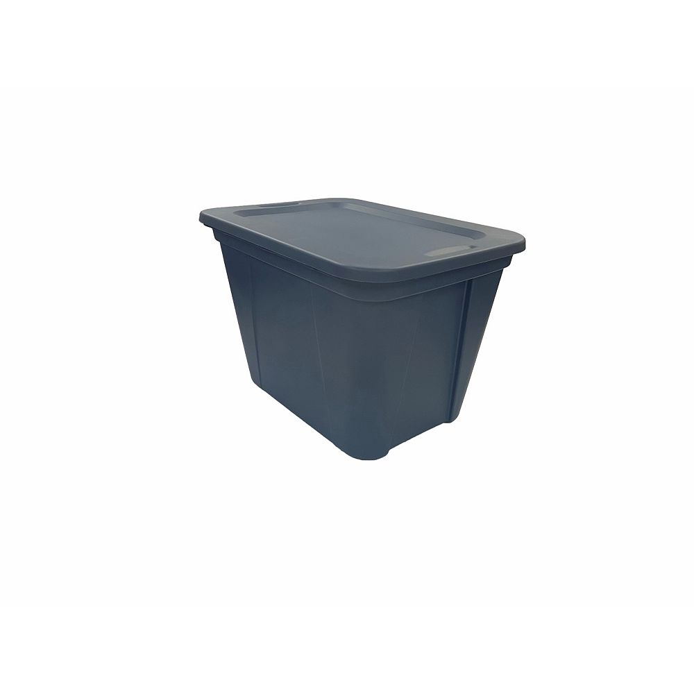 undefined 76L Nesting Storage Tote in Ink Blue