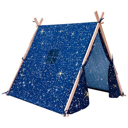 1,31 m l x1,19 m L x1,15 m H La tente de jeu Pour enfants - Nuit étoilée