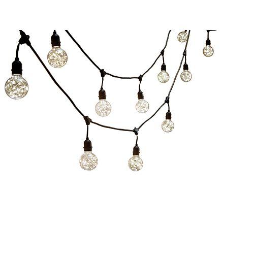 G25 Led Fairy Light String 24 ft.,12 Bulbs