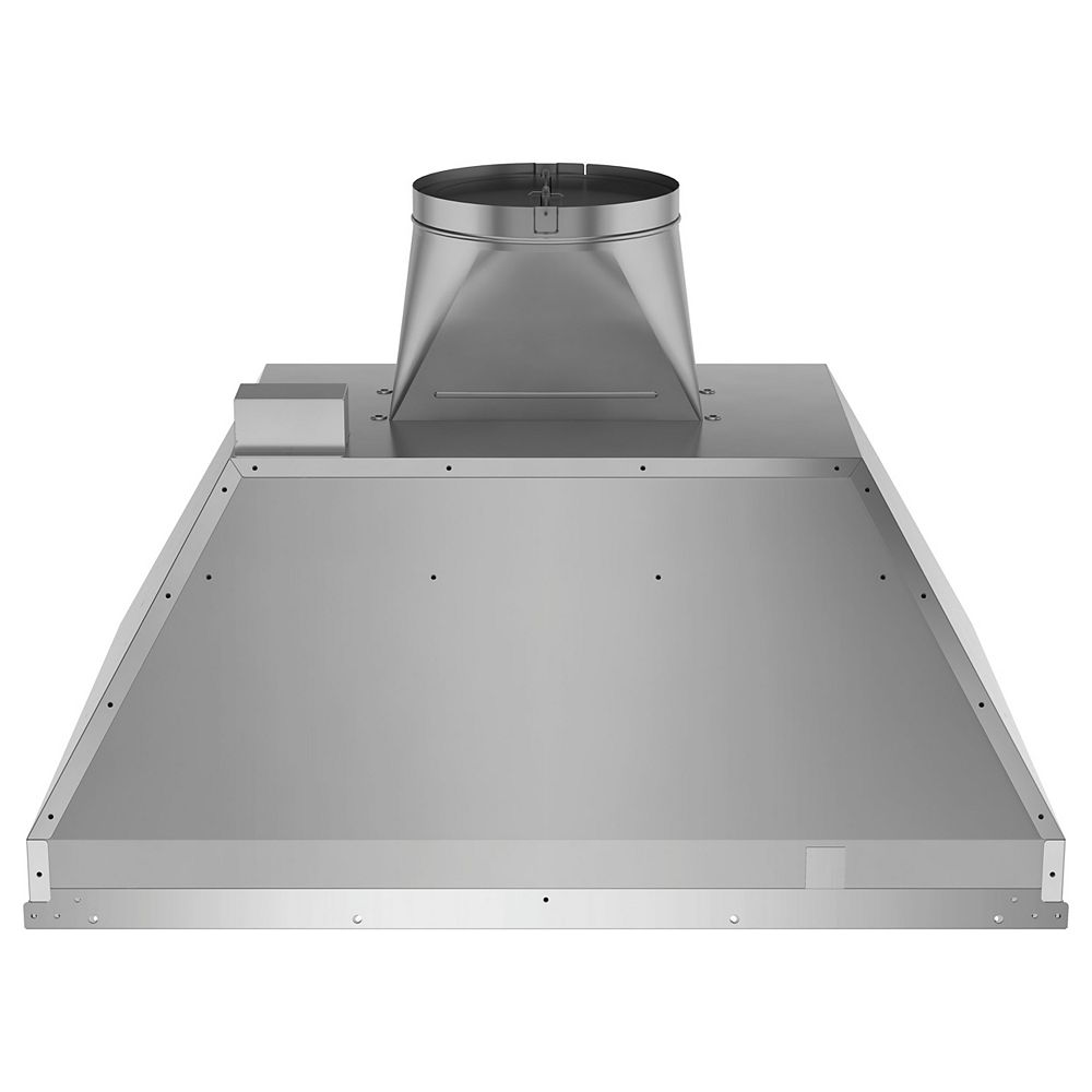 GE 30-inch W Smart Insert Range Hood with Light in Stainless Steel