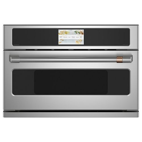 Café 30-inch W 1.7 cu. ft. Smart Electric Wall Oven with 240 Volt Advantium Technology in Stainless Steel