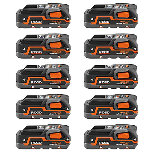 18V 1.5 Ah Lithium-Ion Battery (10-Pack)