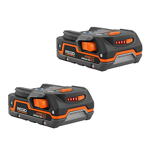 18V 1.5 Ah Lithium-Ion Battery 2 Pack
