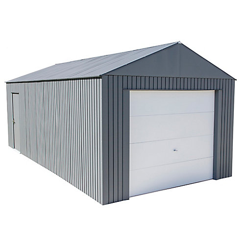 Everest Garage 12 x 25 ft. in Charcoal