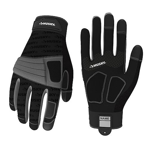 2Pk New Medium Duty Glove L