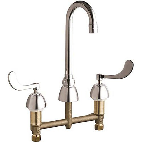 Lead-Free Sink Faucet, 8-Inch Centers