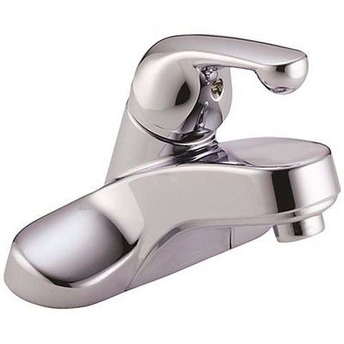 Classic 4 inch Centerset Single-Handle Bathroom Faucet In Chrome