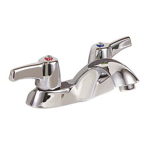4 inch Centerset 2-Handle Bathroom Faucet In Chrome