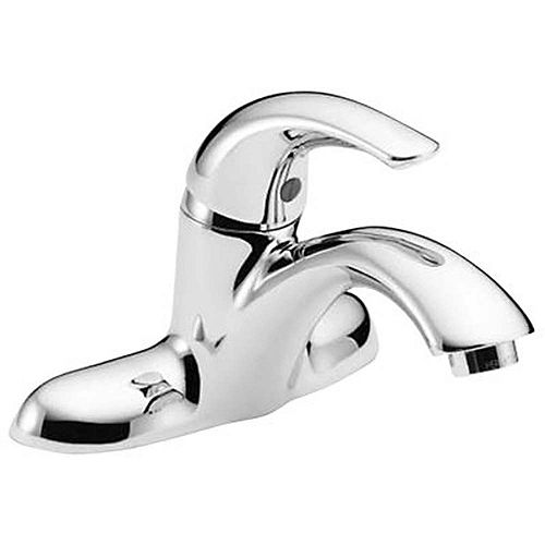 Teck 4 inch Centerset Single-Handle Bathroom Faucet In Chrome