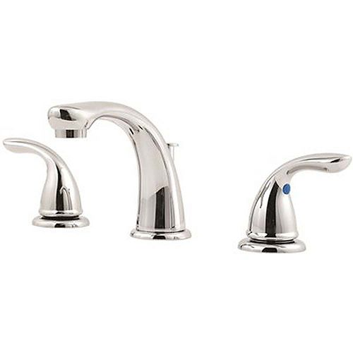 Series 8 inch Widespread 2-Handle Bathroom Faucet In Polished Chrome