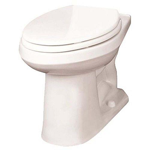 Toilette Allongée, 1,6 Gallon Par Chasse, Blanc