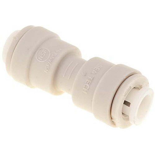 BrassCraft 1/4 inch O.D. Push Fit Plastic Union Connector