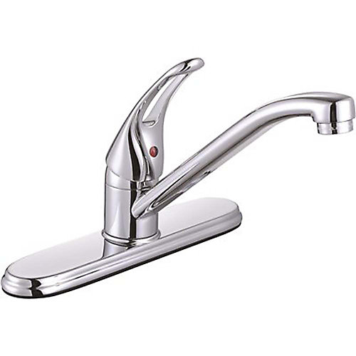 Bayview Single-Handle Standard Kitchen Faucet Without Side Sprayer In Chrome