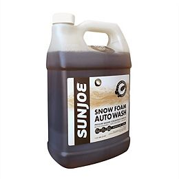 Sun Joe 3.78L Premium Snow Foam Car Wash Soap and Cleaner with Coconut Scent
