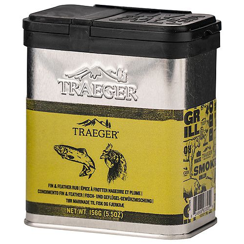Fin & Feather 5.5 oz. Fish and Poultry Rub